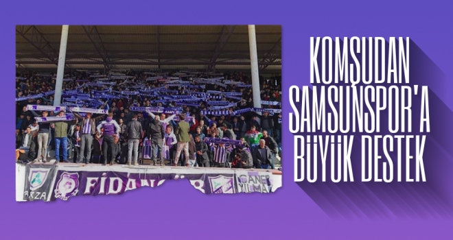 Komşudan Samsunspor'a büyük destek