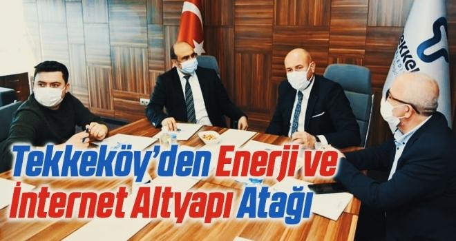 Tekkeköy Belediyesi'nden Enerji ve İnternet Altyapı Atağı