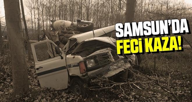 Samsun'da Acı Kaza: 1 Ölü 2 Yaralı
