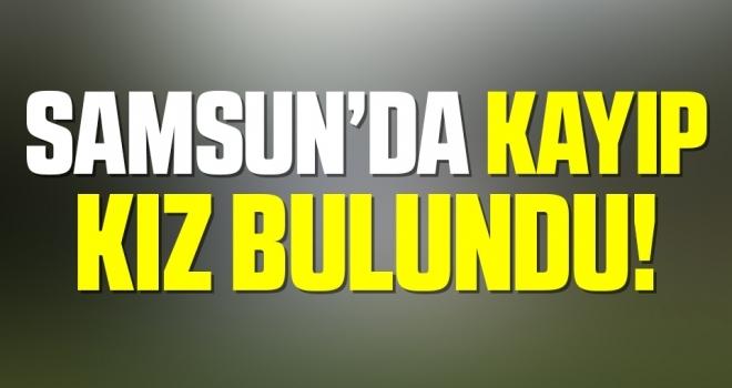 Samsun'da 3 gündür haber alınamayan engelli genç kız bulundu