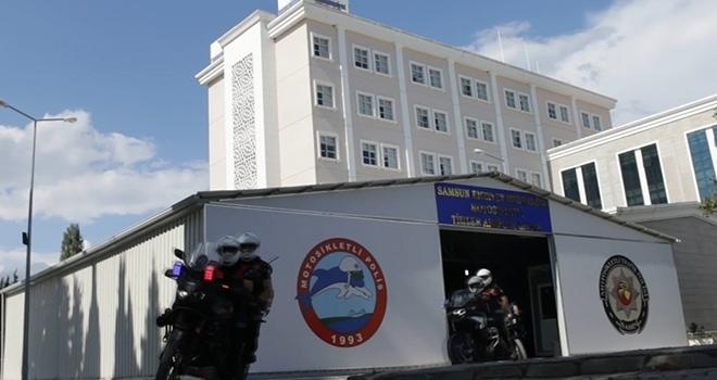 Motosikletli ve Bisikletli Polis Timler Büro Amirliği yeni yerinde