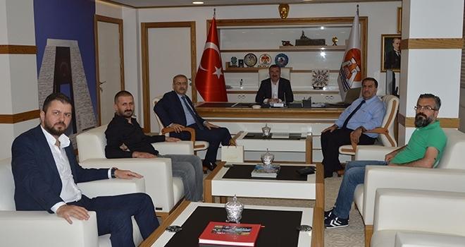 Samsun Baro Başkanından Başkan Özdemir'e ziyaret
