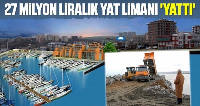 27 Milyon Liralık Yat Limanı 'Yattı'