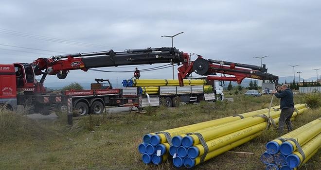 Bafra OSB doğal gaza kavuşuyor