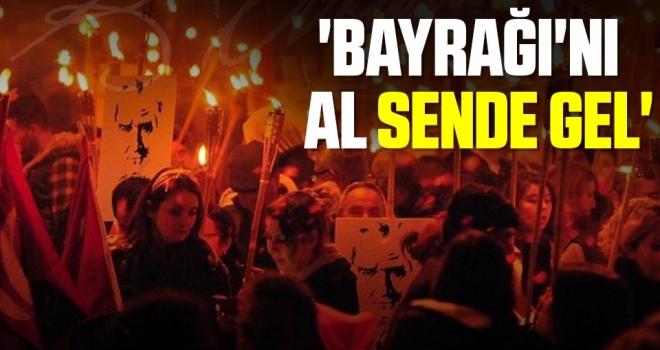 ADD'den Cumhuriyet Bayramı Fener Alayı 'Bayrağı'nı AlSende Gel'