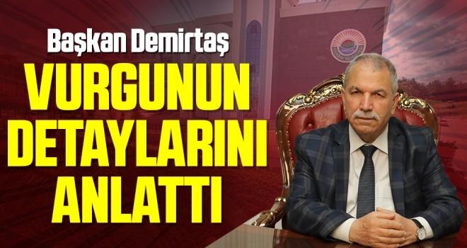 Başkan Demirtaş Belediyedeki Vurgunun Detaylarını Anlattı