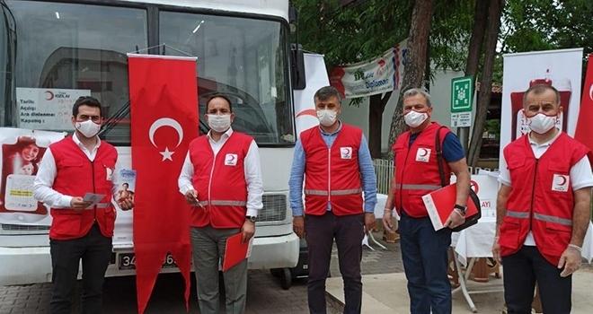 Bafra'da 'Ulusal Güvenli Kan Temini Programı' uygulanmaya başlandı