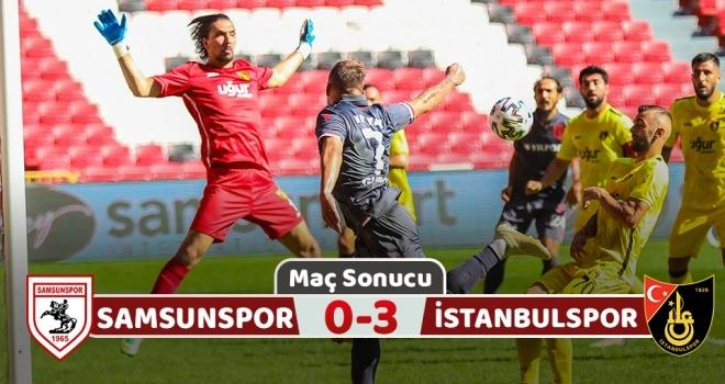 Yılport Samsunspor: 0 İstanbulspor: 3 (Maç Sonucu)