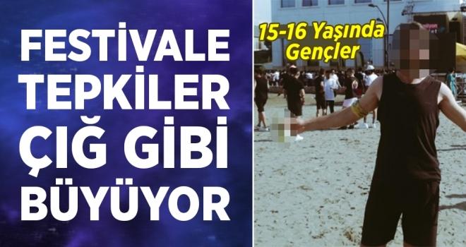 Samsun'da Ahlak Dışı Şenlik!