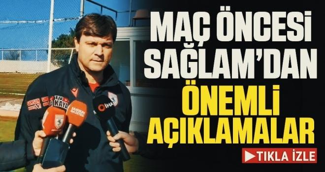 Samsunspor Teknik Direktörü Ertuğrul Sağlam'dan Eskişehirspor Maçı Öncesi Önemli Açıklamalar