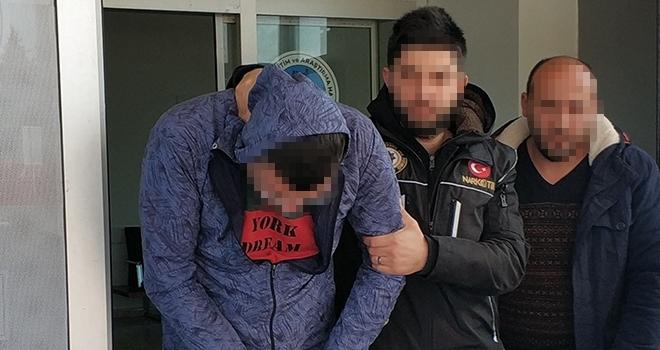 Samsun'da Uyuşturucu satan şahıs tutuklandı