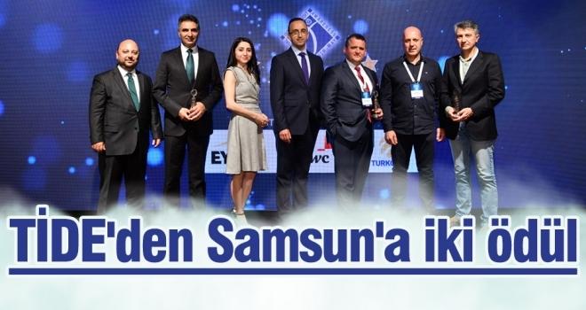 TİDE'den Samsun'a iki ödül
