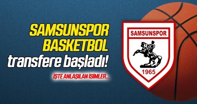 Samsunspor Basketbol transfere başladı! İşte anlaşılan isimler...