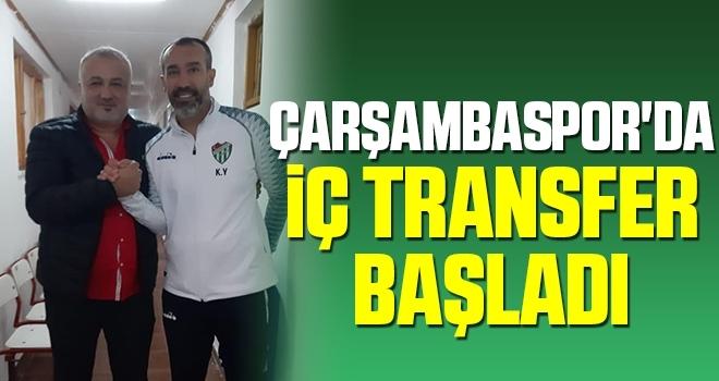 Çarşambaspor'da İç Transfer Başladı