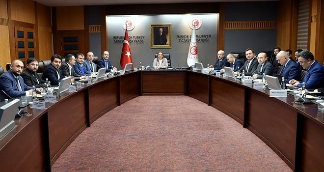 Türkiye Perakendeciler Federasyonu Ticaret Bakanı Ruhsar Pekcan'ı ziyaret etti