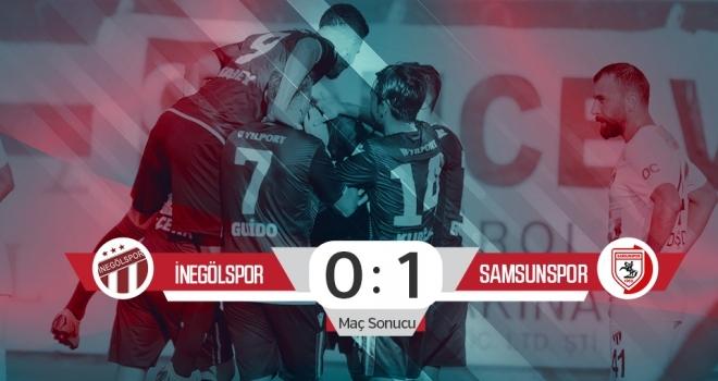 İnegölspor: 0 Yılport Samsunspor: 1 (Maç sonucu)