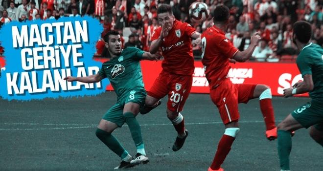 Yılport Samsunspor - Kırklarelispor maçından geriye kalanlar