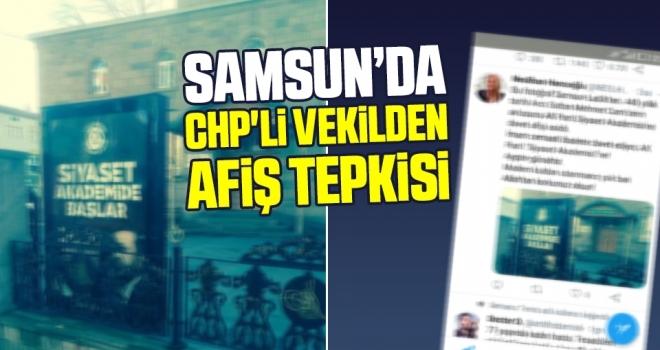 CHP'li VekildenAfiş Tepkisi