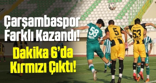 Çarşambaspor: 5 - Arhavispor: 0