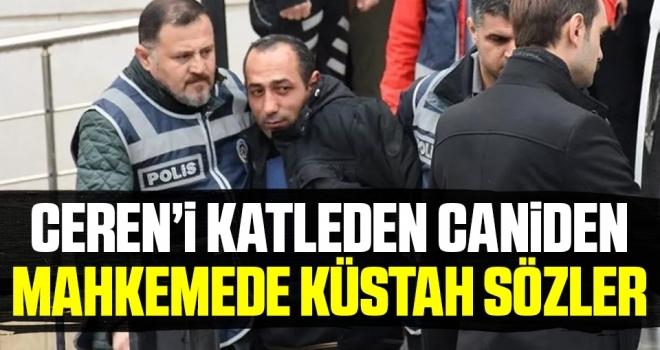 Ceren Özdemir'in katili Özgür Arduç'tan küstah sözler! 'Gelmekten bıktım, bitirelim'