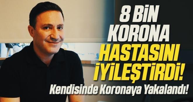 8 bin korona hastasını iyileştiren profesör de koronaya yakalandı