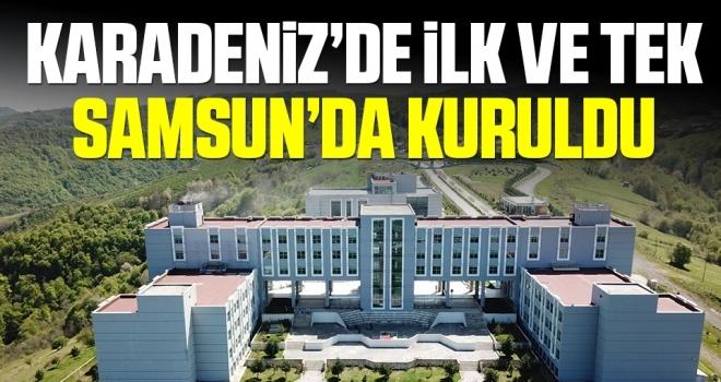 """Karadeniz'in ilk ve tek """"Sosyal İnovasyon Merkezi"""" SAMÜ'de kuruldu"""