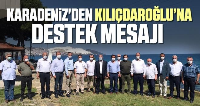 CHP Karadeniz İl Başkanlarından  Kılıçdaroğlu'na Destek Mesajı