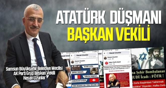 Büyükşehir Meclisi AK Parti Grup Başkan vekili, Atatürk'e 'ağır hakaretlerle saldırdı'